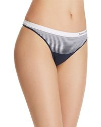 Calvin Klein - Seamless Illusions Thong - Lyst
