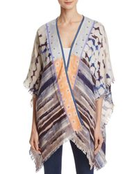 Bl-nk - -bl^nk- Veeransa Abstract Print Cover-up - Lyst