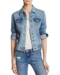 AG Jeans - Robyn Denim Jacket In Streamside - Lyst