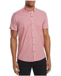 W.r.k. - Micro Stripe Regular Fit Button-down Shirt - Lyst