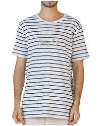 Barney Cools - Rope Short Sleeve Striped Tee - Lyst