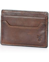 Frye - Logan Card Case - Lyst