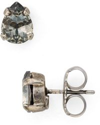 Sorrelli - Teardrop Stud Earrings - Lyst