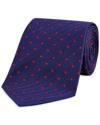 Turnbull & Asser - Dot Classic Tie - Lyst
