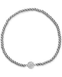 Aqua - Beaded Bracelet - Lyst