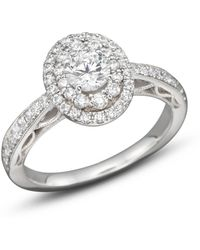 Bloomingdale's - Diamond Engagement Ring In 14k White Gold, 1.0 Ct. T.w. - Lyst