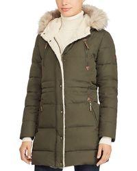 Ralph Lauren - Lauren Packable Hooded Down Coat - Lyst