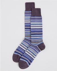 Paul Smith - Multistripe Socks - Lyst