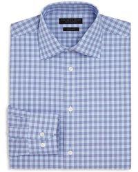 Bloomingdale's - Houndstooth Regular Fit Dress Shirt - Lyst