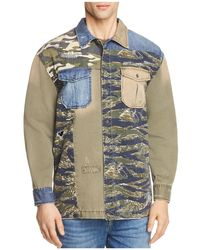 True Religion - Patched Utility Button-down Shirt - Lyst