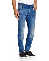 G-Star RAW - Arc 3d Slim Fit Jeans In Medium Age - Lyst