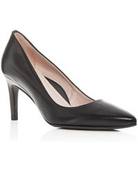 Taryn Rose - Women's Gabriela Leather Pointed Toe Court Shoes - Lyst