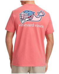 Vineyard Vines - Lacrosse Logo Crewneck Tee - Lyst