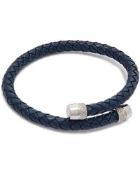 Ted Baker - Scores Knuring Leather Bracelet - Lyst