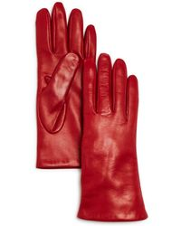 Bloomingdale's - Cashmere Lined Leather Gloves - Lyst