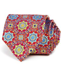 Robert Talbott - Exploded Sunburst Medallion Classic Tie - Lyst