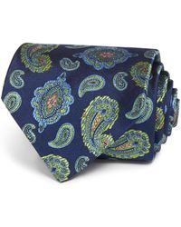 Turnbull & Asser - Floating Paisley Classic Tie - Lyst