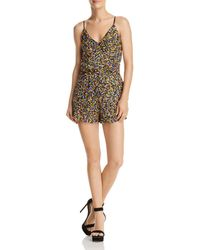 Guess - Rico Sequined Romper - Lyst