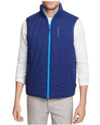 Vineyard Vines | Reversible Spinnaker Quilted Vest | Lyst