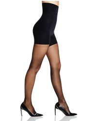 Spanx - Luxe Leg High Waisted Sheer Tights - Lyst