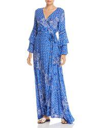 Poupette - Elise Layered Maxi Dress - Lyst