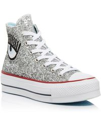 94002eb6a2a6 Converse - All Star Lift Hi Trainers - Lyst
