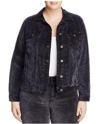 Lucky Brand | Denim-style Velvet Jacket | Lyst