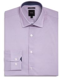 W.r.k. - Micro Stripes Slim Fit Dress Shirt - Lyst