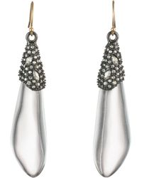 Alexis Bittar - Crystal Cluster Drop Earrings - Lyst