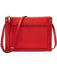 Sandro - Bianca Leather Crossbody - Lyst