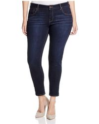 Lucky Brand - Ginger Cropped Skinny Jeans In El Monte - Lyst