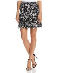 French Connection - Fulaga Floral Lace Mini Skirt - Lyst