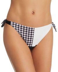 134a2bcd78 Freya Cha Cha Skirted Bikini Bottom in Brown - Lyst