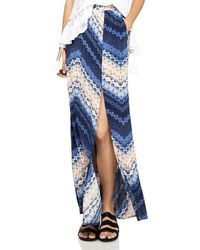 BCBGeneration - Chevron Maxi Skirt - Lyst