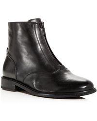 Frye - Women's Kelly Waxed Leather Booties - Lyst