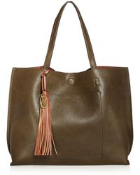 Carlos By Carlos Santana - Leslie Reversible Pocket Tote - Compare At $98 - Lyst