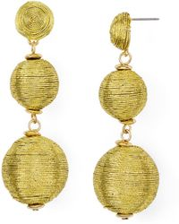 BaubleBar - Metallic Crispin Drop Earrings - Lyst