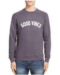 Sub_Urban Riot - Good Vibes Graphic Sweatshirt - Lyst