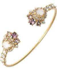 Marchesa - Studded Open Cuff Bracelet - Lyst