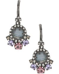Marchesa - Stone Drop Earrings - Lyst