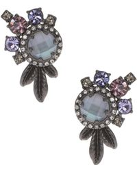 Marchesa - Cluster Stud Earrings - Lyst