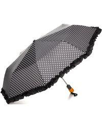 Bloomingdale's - Ruffle Dot Umbrella - Lyst
