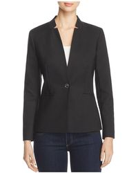 Vince Camuto - Notched Stand Collar Blazer - Lyst