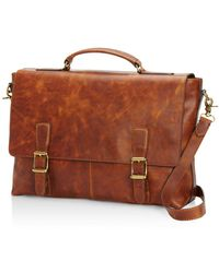 Frye - Logan Top Handle Messenger Bag - Lyst