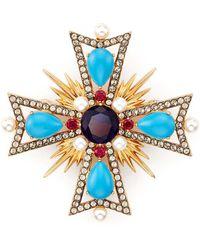 Nadri - Cross Pin - Lyst