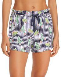 Jane & Bleecker New York - Printed Pajama Shorts - Lyst