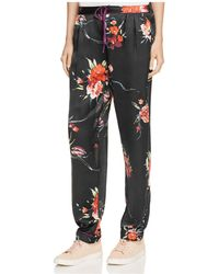 Band Of Gypsies - Botanical Floral Trousers - Lyst