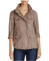 Vince Camuto - Faux Suede Jacket - Lyst