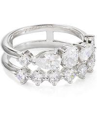 Nadri - Talia Multi-band Embellished Ring - Lyst