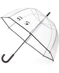 Kate Spade Winking Eyes Umbrella